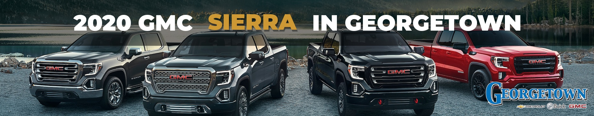 New Trucks in Georgetown. Discover the 2020 GMC Sierra in Georgetown and the Greater Toronto Area from Georgetown Chevrolet.