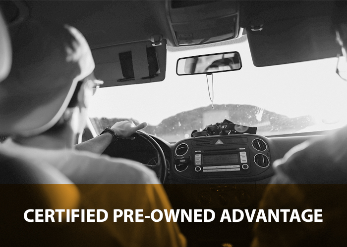 Certified pre-owned advantage.