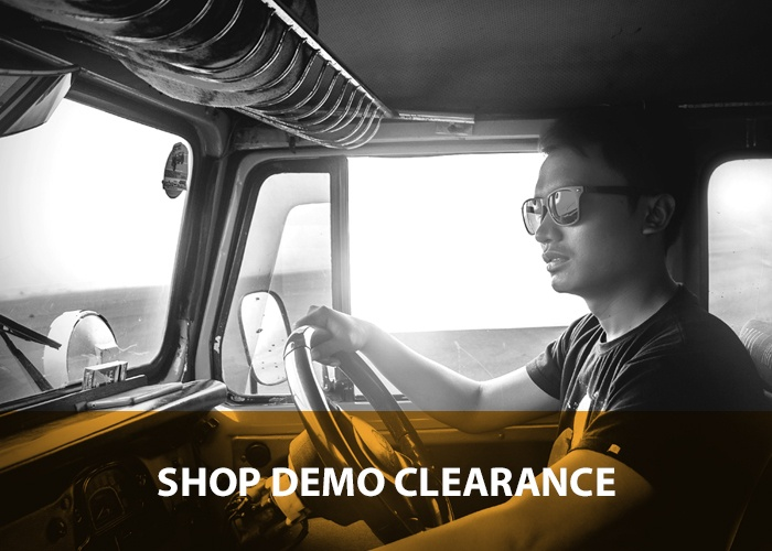 Shop demo clearance