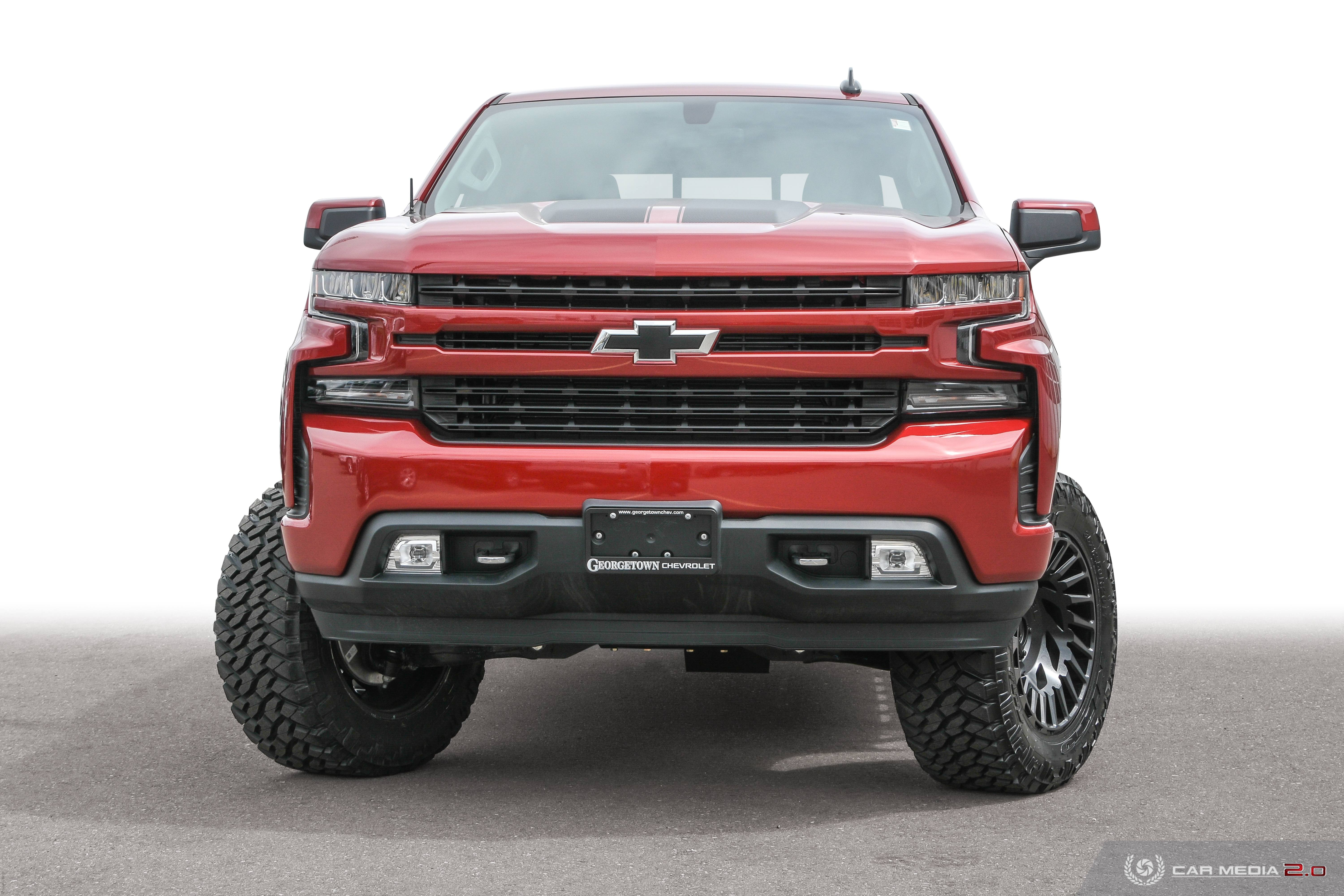 Red Skull | Custom Silverado Truck in Georgetown Ontario, Halton Hills and the Greater Toronto Area from your home for Custom Trucks